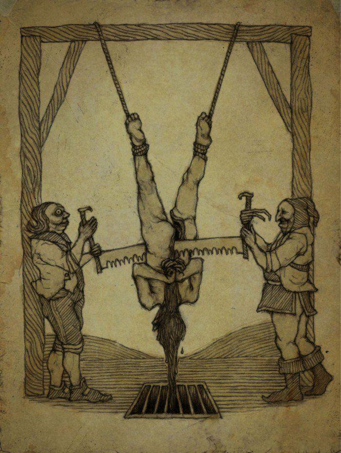 16 techniques de torture qui vont vous faire froid dans le dos : ils en avaient de l'idée au Moyen-Âge !