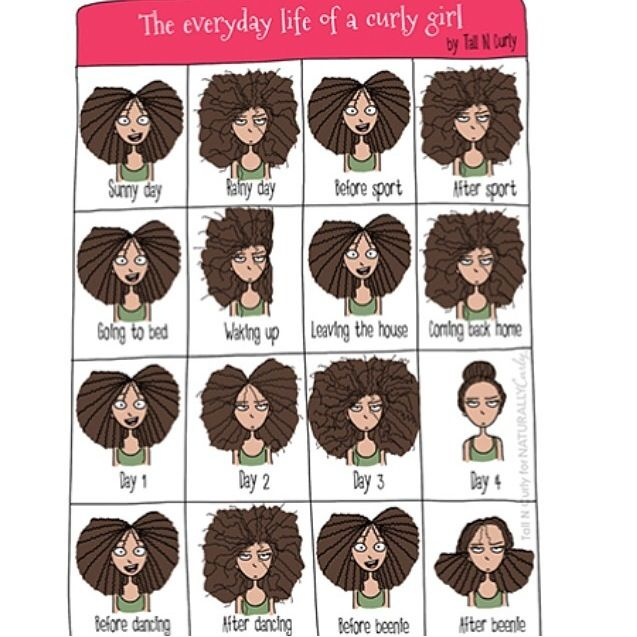Curly girl problems