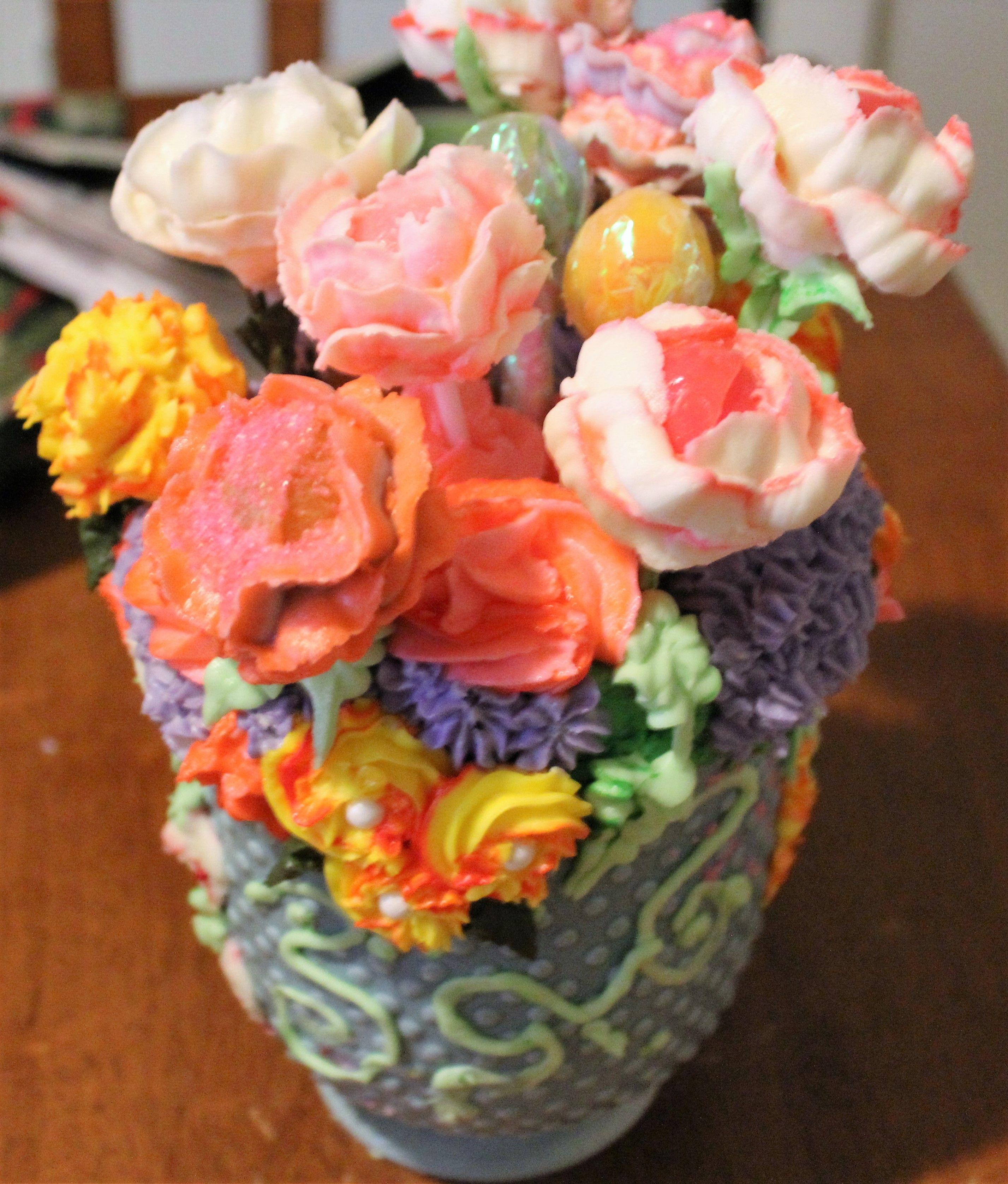 Cake in a Flower Pot.