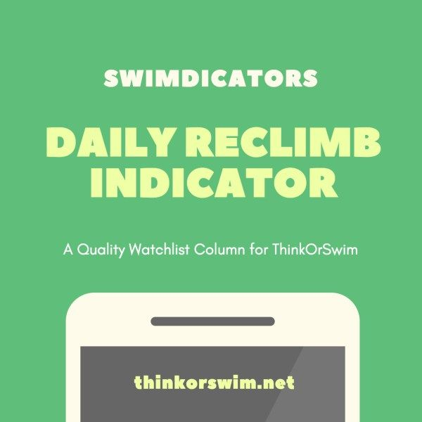 daily reclimb indicator high low for think or swim | ThinkOrSwim