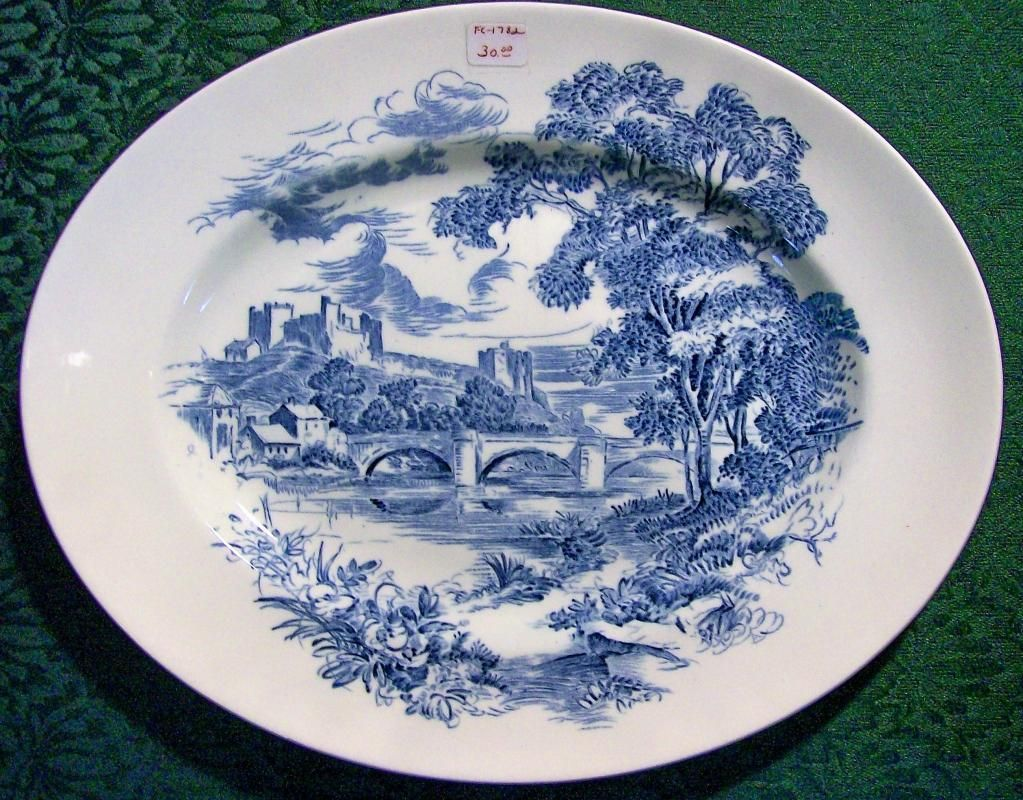 Pin By Inglenook Antiques Collectib On European Pottery Porcelain For Sale In 2020 Ceramic Platters Collectible Pottery Wedgwood