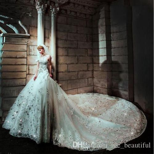 Victorian Wedding Dress 2015 New White Wedding Gown Vintage Wedding Dresses Beautiful Sweetheart Luxury Sparkly Bling Bling Crystal Bridal Renaissance Ball Gowns Red Carpet Dresses From Me_beautiful, $263.88| Dhgate.Com