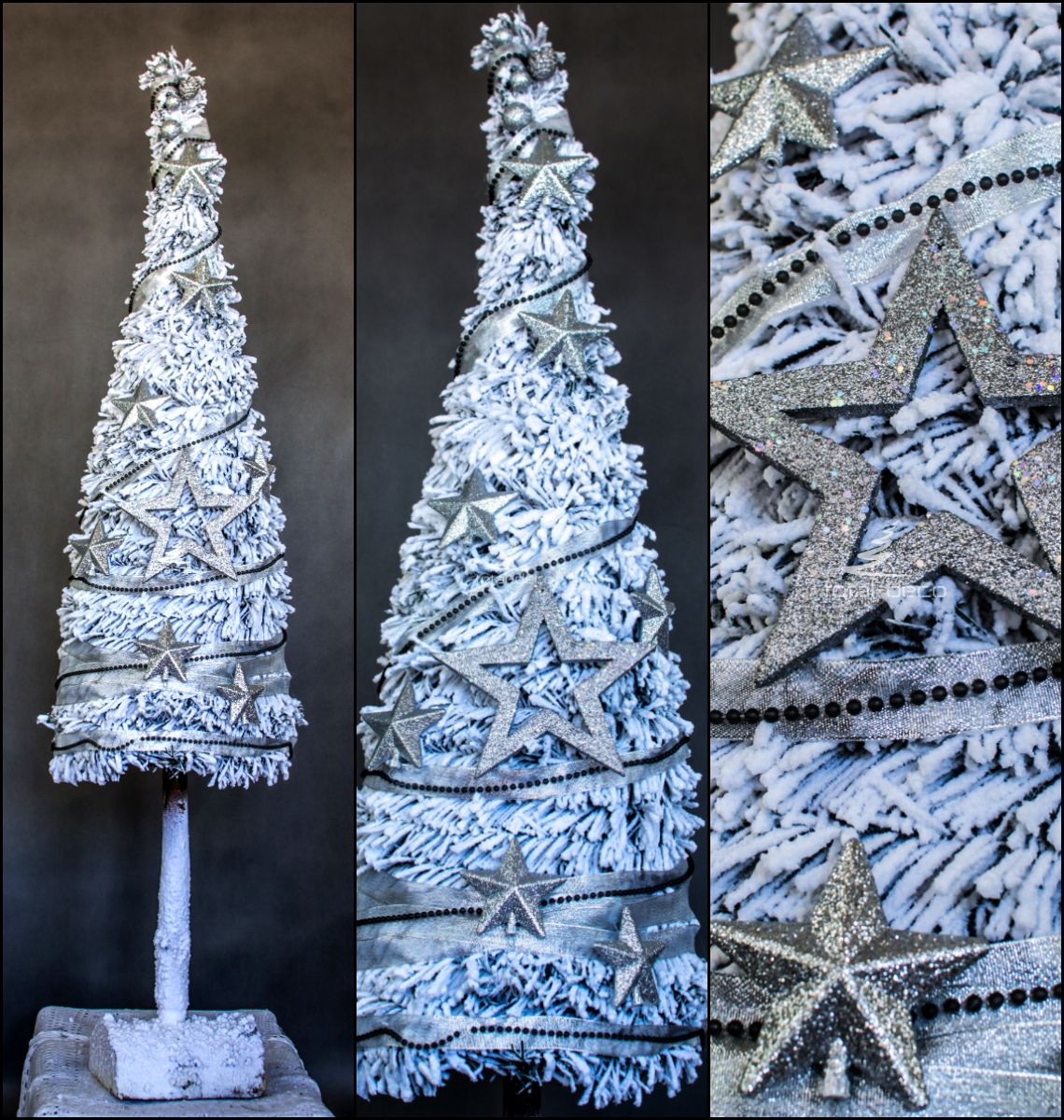 Rustykalna Dekoracja Choinki Czyli Drzewko Swiateczne W Stylu Vintage Oraz Naturalne Big Christmas Tree Christmas Decorations Rustic Tree Rustic Christmas Tree