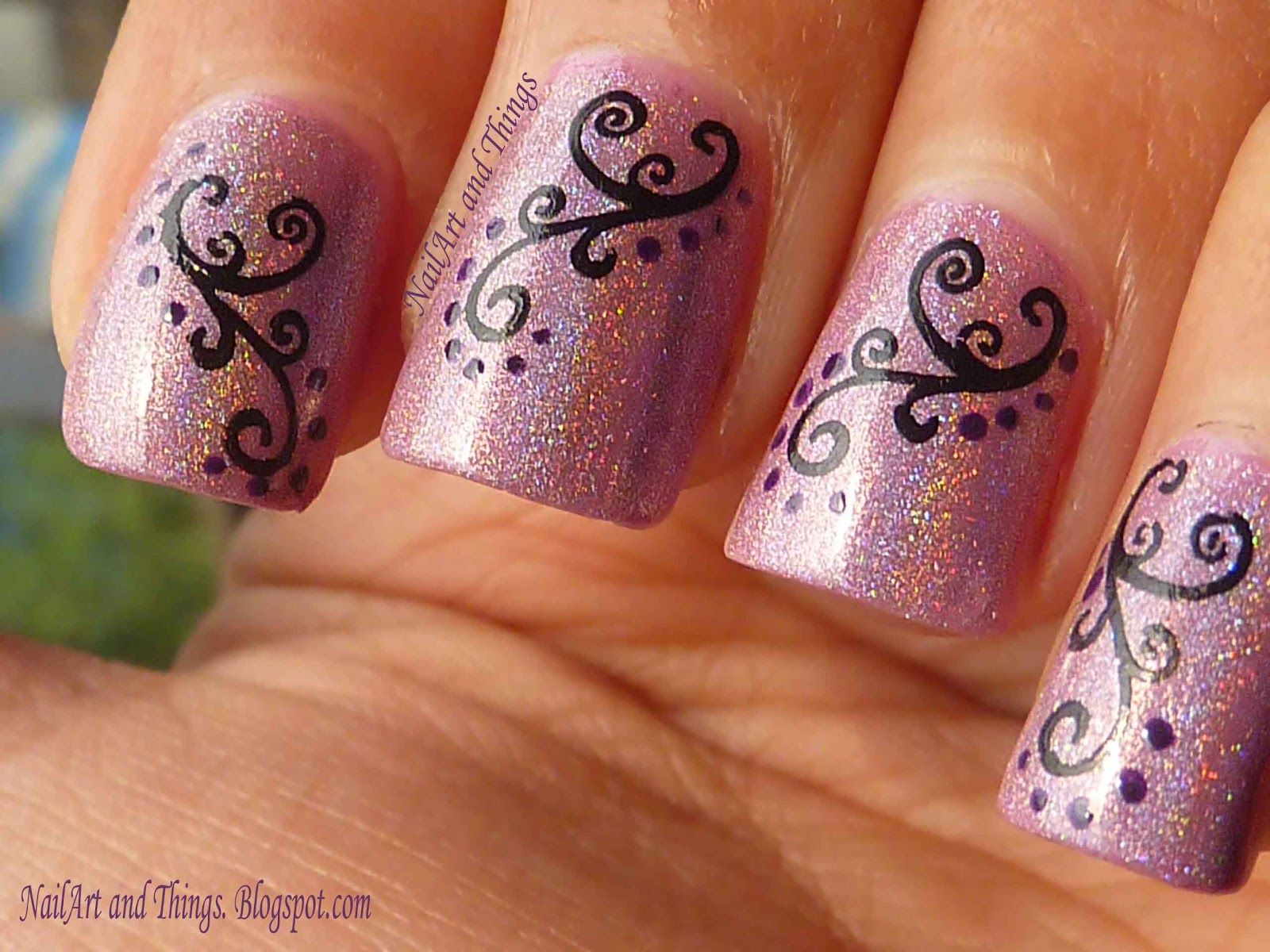 deepavali special nail arts designs in india google search. bridal ...