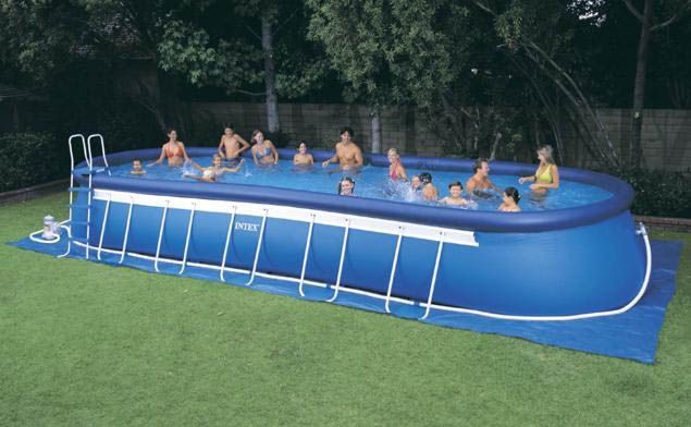 Wonderful Portable Swimming Pools Inflatable And Intex Stunning