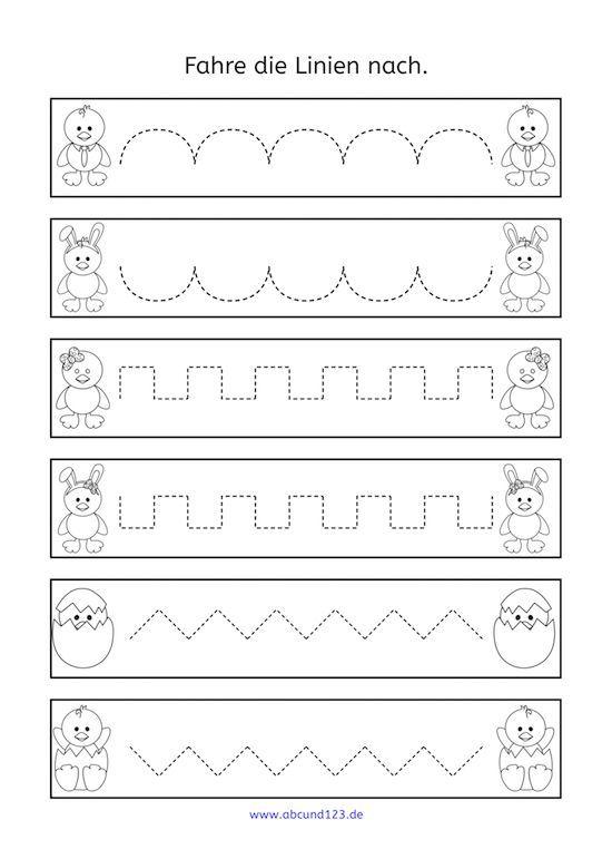 nachfahr bungen zu ostern nachfahren feinmotorik afs methode vorschule grundschule. Black Bedroom Furniture Sets. Home Design Ideas