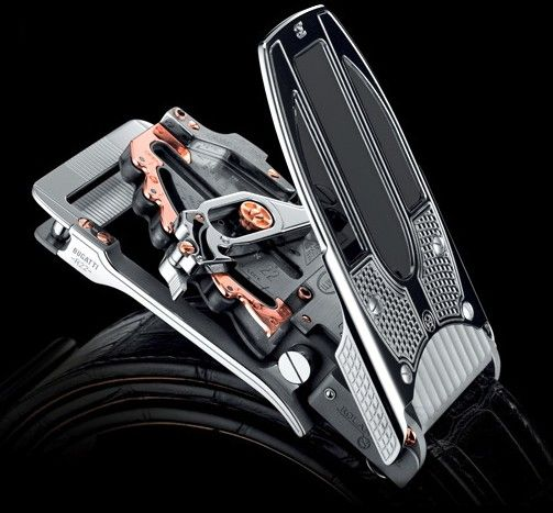 "A Belt Buckle for $84,000 - Created by Roland Iten in association with the Bugatti Automobile Company, Bugatti Belt Buckle costs $84,000, more than six Ford Fiesta cars. The designer compare the mechanically performing belt mechanism to the finest watch movements: ""Hand- crafted bridges, cogs, wheels, springs and pinions a... #Bugatti #luxury"