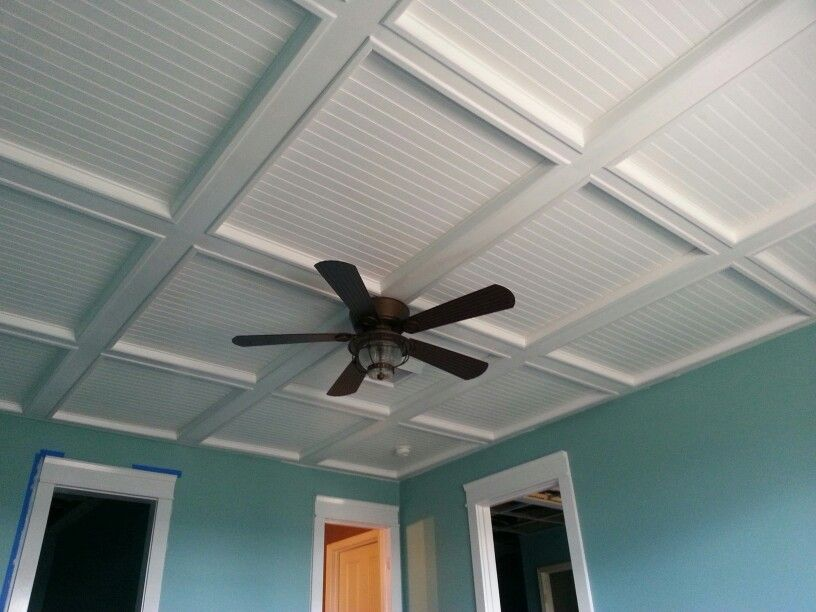 This Is The Bedroom Ceiling In Our Basement I Replaced The