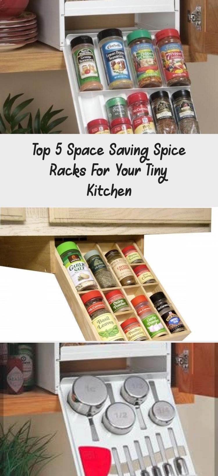 Space Saving Spice Rack Idea Tiny House Pins Tinyhousekitchenideas In 2020 Tiny Kitchen Kitchen Spice Rack