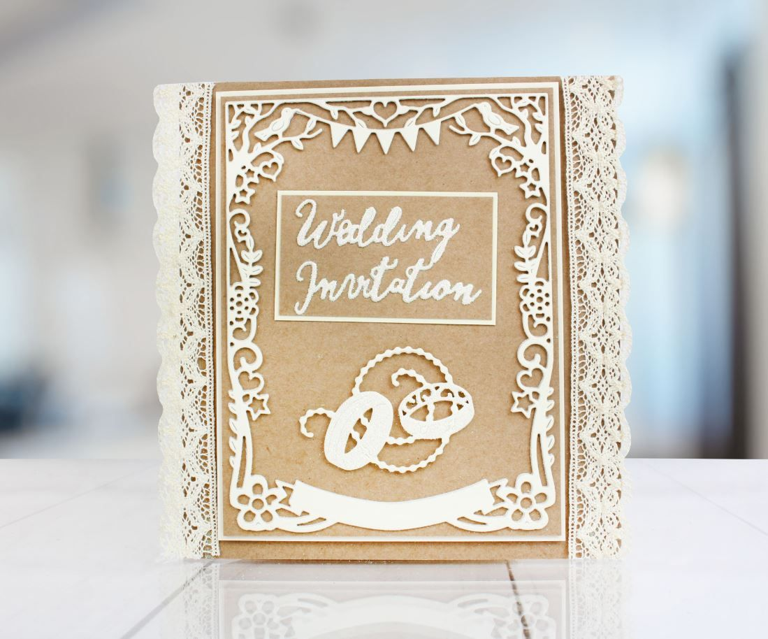 Shop the @tatteredlaceuk Floral Folk Frame Die to make beautiful ...