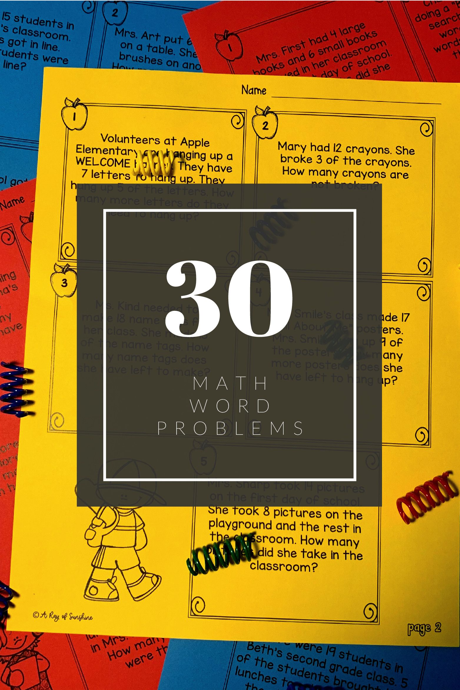Word Problem Worksheets Subtraction Word Problems Word Problems Math Word Problems [ 2344 x 1563 Pixel ]