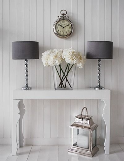 13 Charming Console Table Decor Ideas  FOR MY HOME and ME