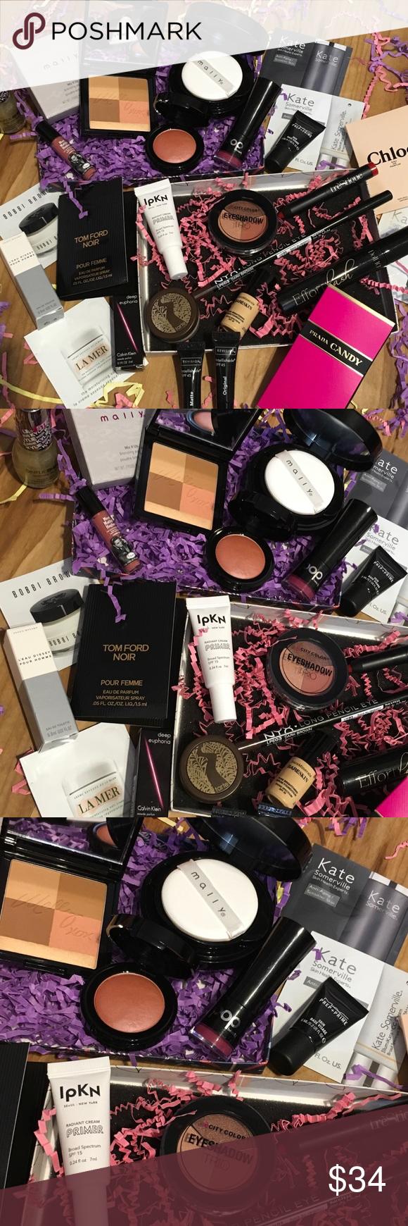 Girl, you're makeup is on FLEEK!! Perfume samples