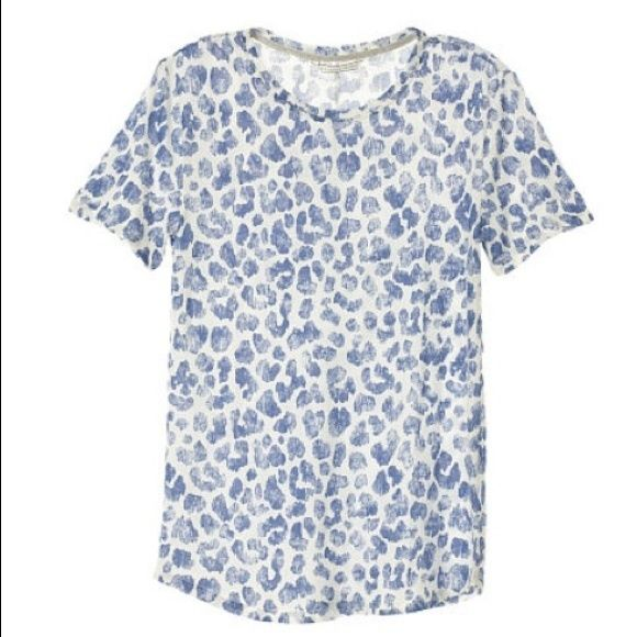 LAST CHANCE! Victoria's Secret Leopard Tee size L New in package! Price is FIRM unless bundled. Victoria's Secret Tops