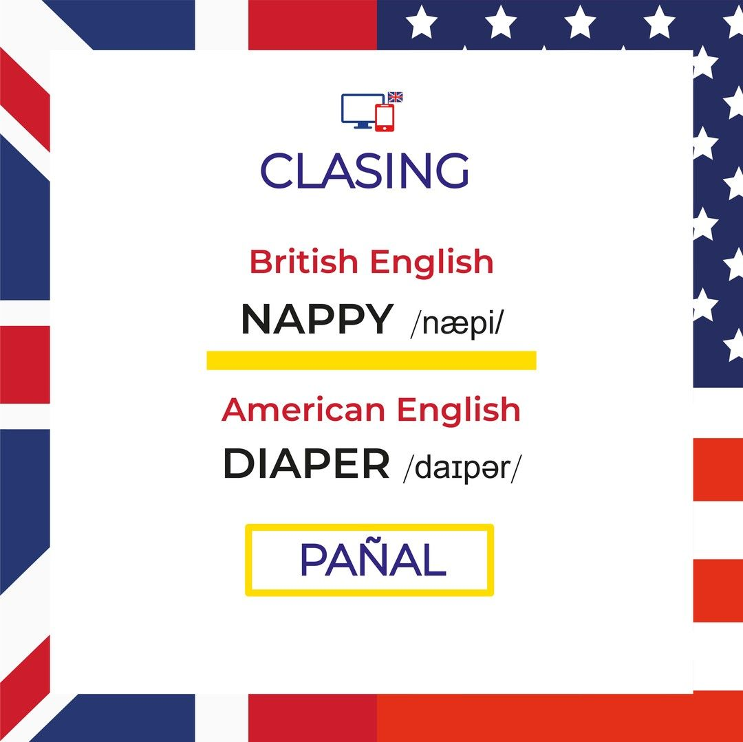 Nappy Diaper Did You Know This Word