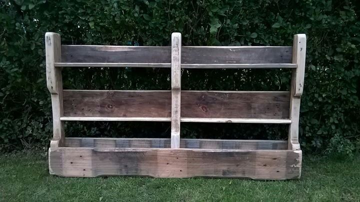 Wall unit made from a pallet   my pallets diy   Pinterest   Pallets ...