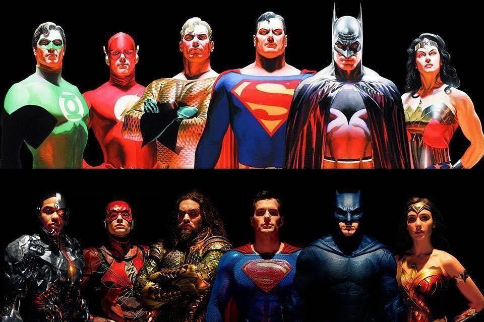29 7k Likes 352 Comments Alex Ross Thealexrossart On Instagram Justiceleague Justiceleague Movie Justice League Characters Alex Ross Justice League