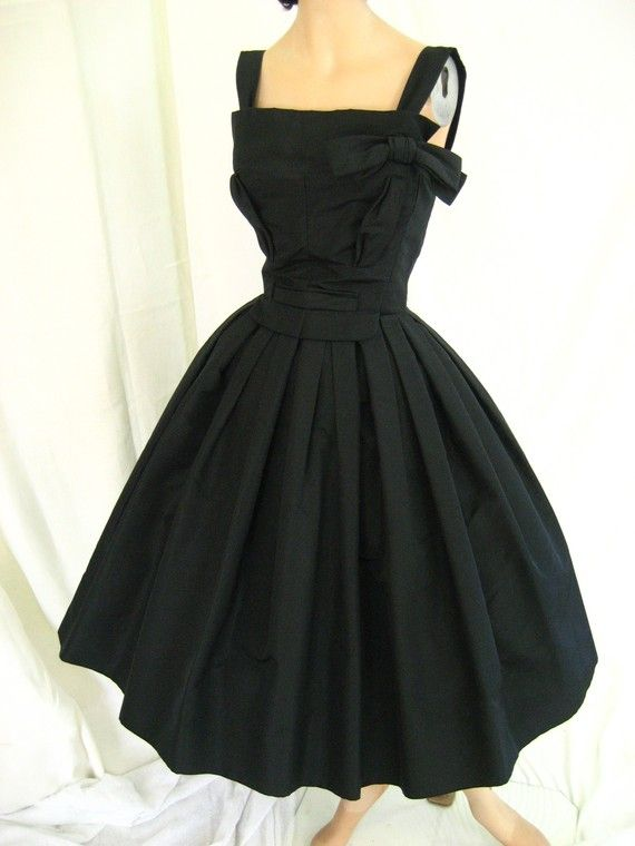 a3672013b8cc9 1950 s Christian Dior dress from Tovas Vintage Shop   Etsy