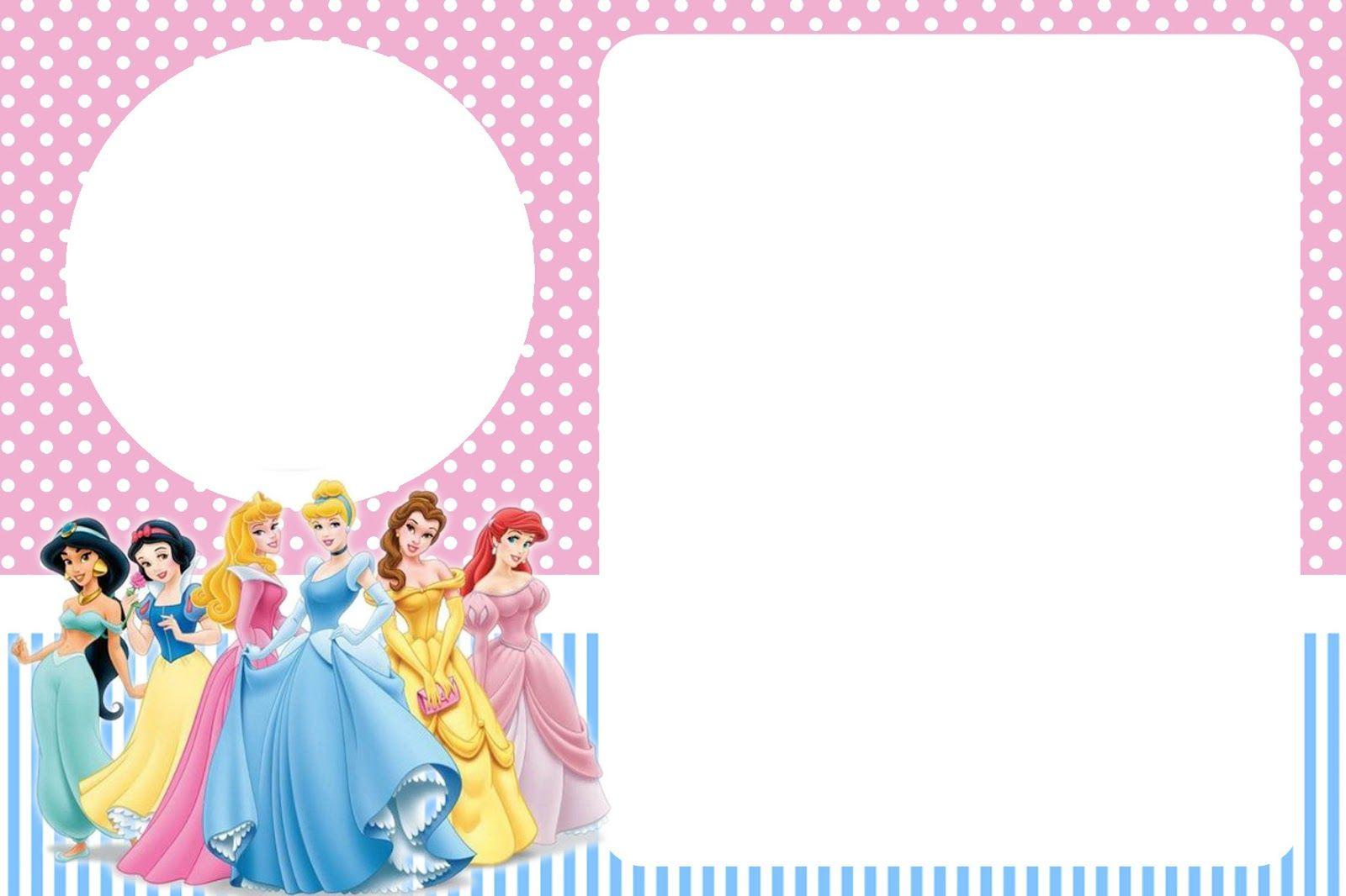 Convite3 Jpg 1600 1066 Convite Princesa Aniversario Com Tema