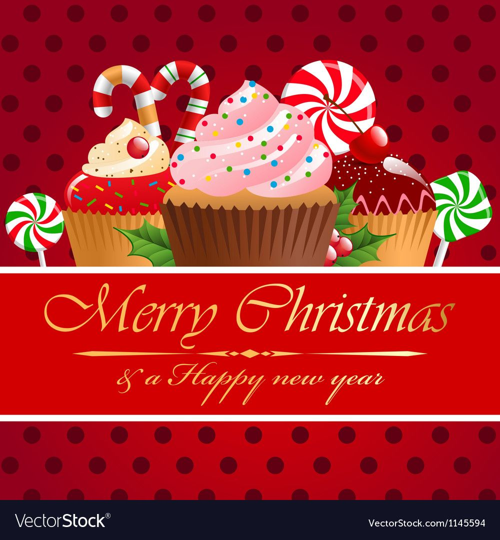 Christmas pastry and sweets Royalty Free Vector Image ,