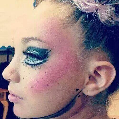 Maddies Broken Dolls makeup | Dance Moms Maddie | Pinterest | Doll ...