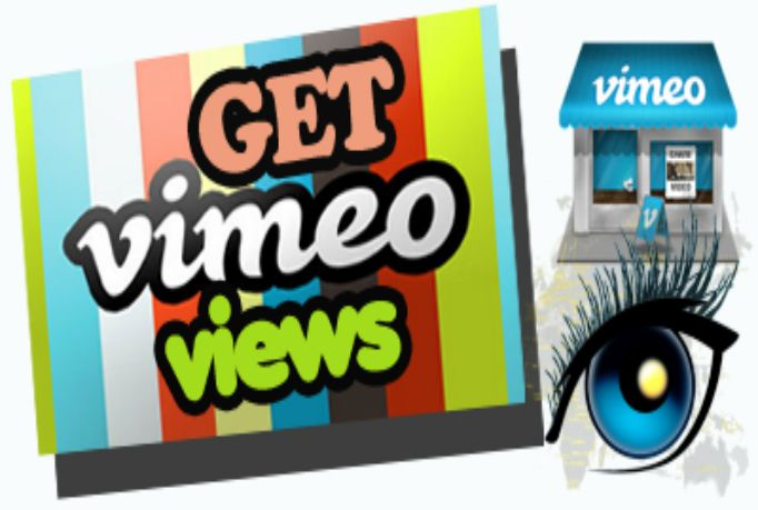 thetrieye: give you 250 real Vimeo views for $5, on fiverr.com