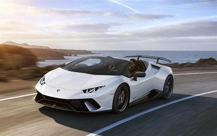 Download wallpapers Lamborghini Huracan Performante Spyder