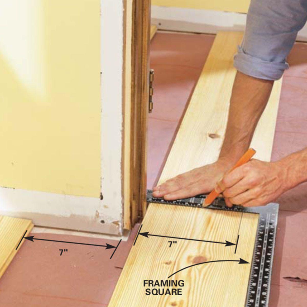 How To Install Pine Floors In 2020 Pine Floors Wood Floor Installation Wood Floors
