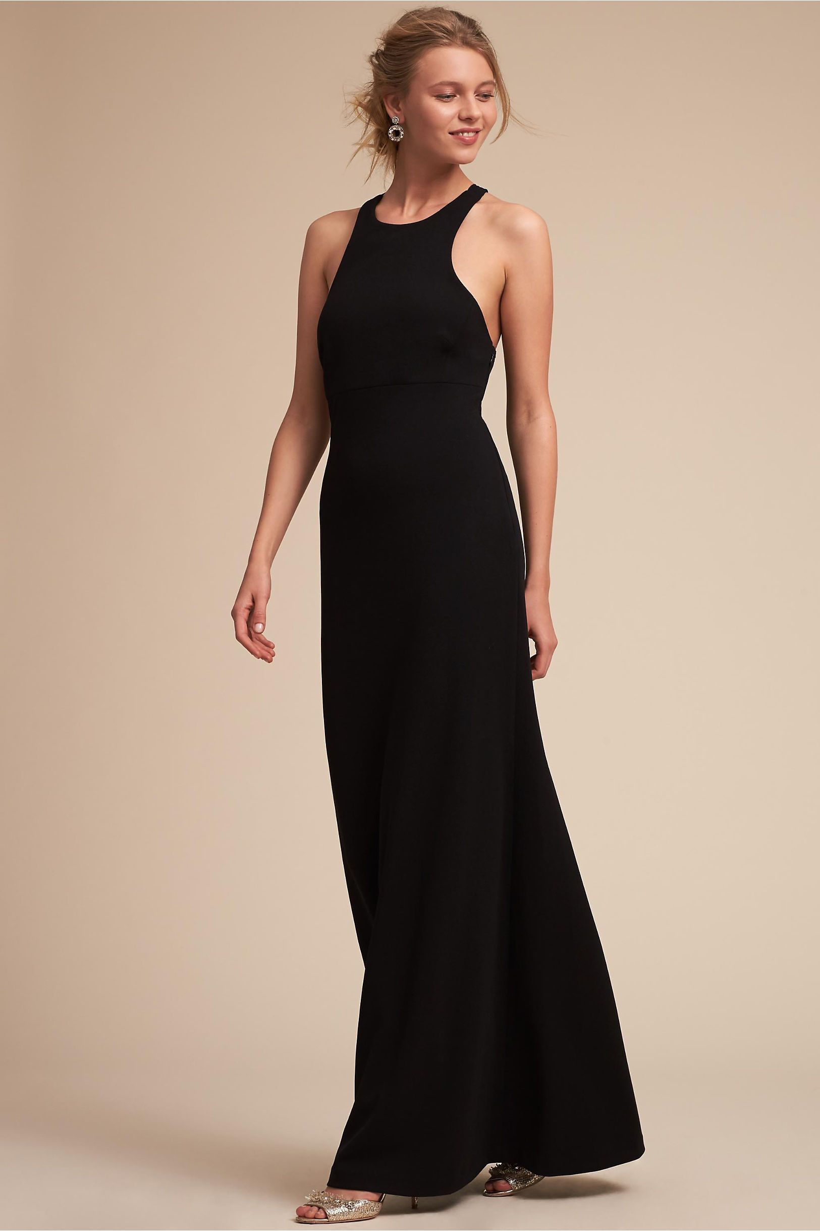 Bhldn selina dress black in bridal party bhldn fall