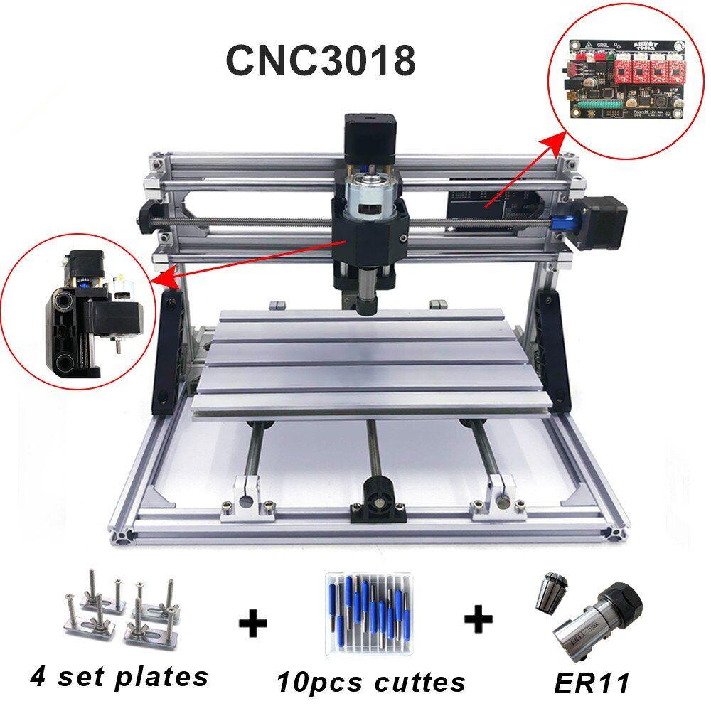 Cnc3018 wither11diy mini cnc engraving machinelaser