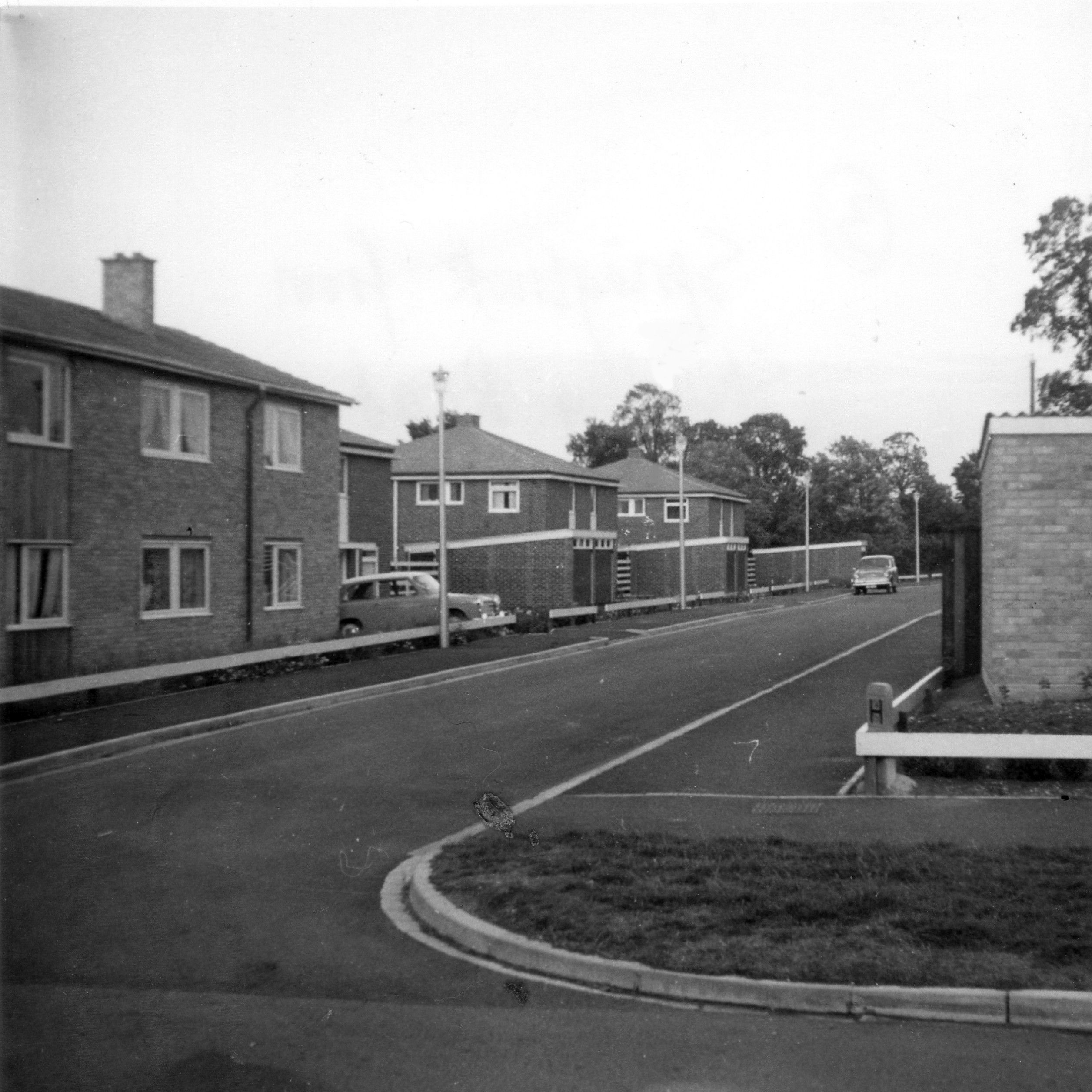 Springbrook From Shirdley Road In Eynesbury When They Were New In 1963 Road Century 20th Century