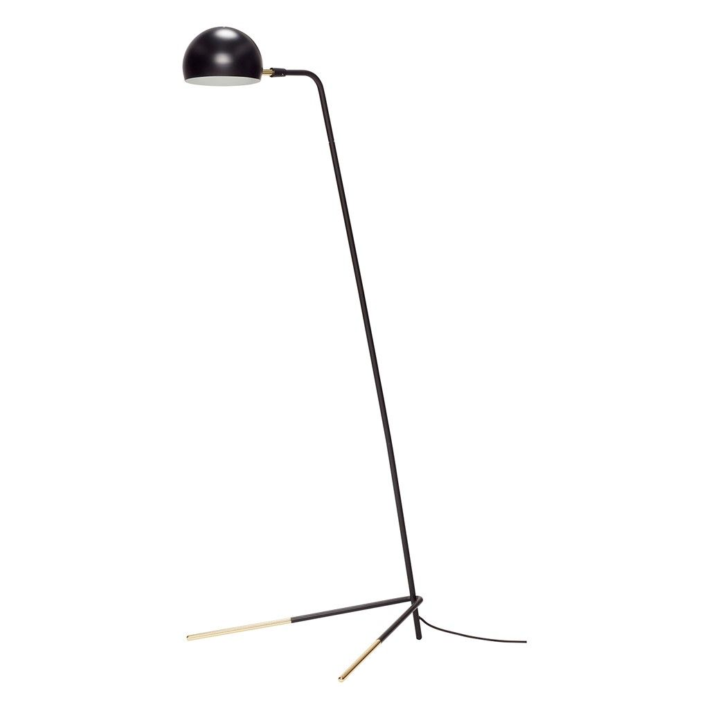 Hygge Design Lampa Podlogowa Basics Czarna Metal 150cm 370411 With Images Floor Lamp Brass Floor Lamp Lamp