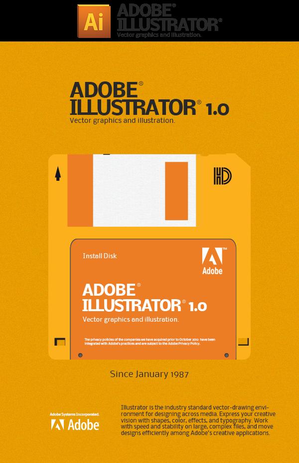 Pin By Hsiaomin Lin On Illustrator Junkies Adobe Software Floppy Disk Floppy