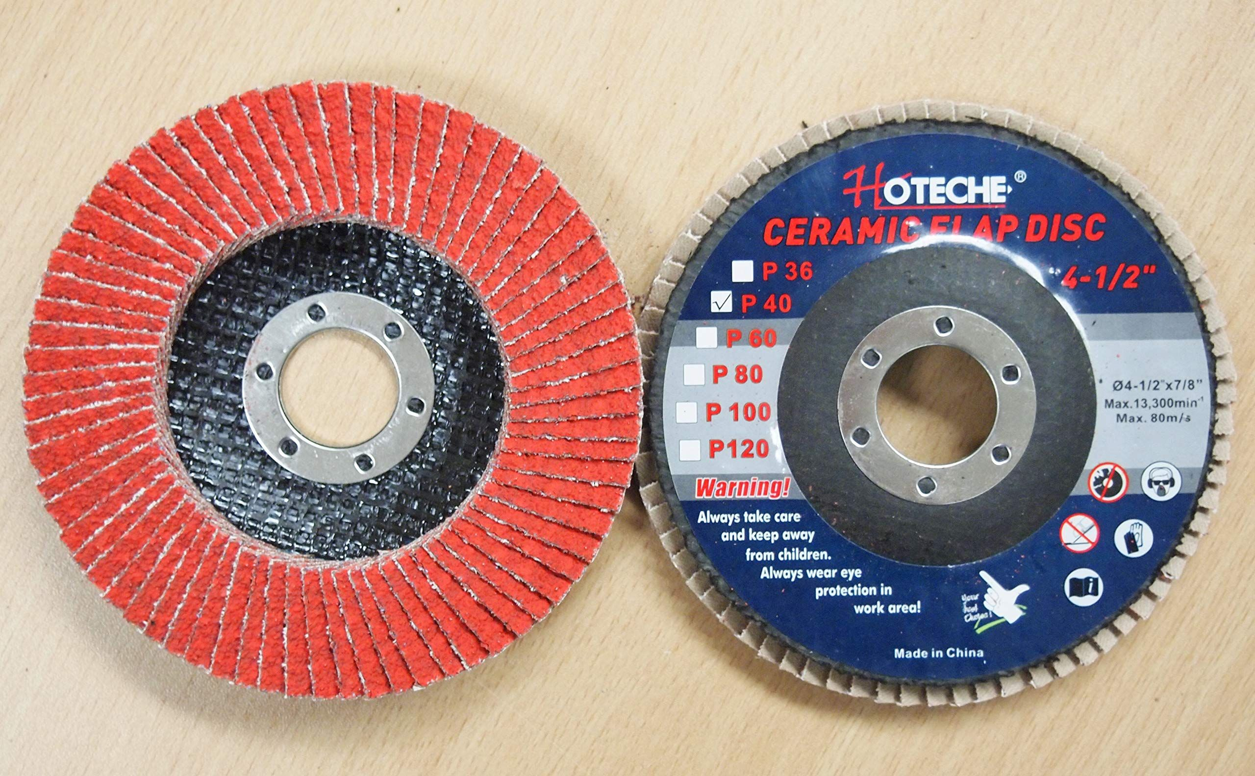 Lot Of 10 Ceramic Flap Disc Grinding Wheel 4 1 2 X7 8 40 Grit Ad Flap Sponsored Disc Ceramic Lot In 2020 Ceramics 10 Things Weight Plates