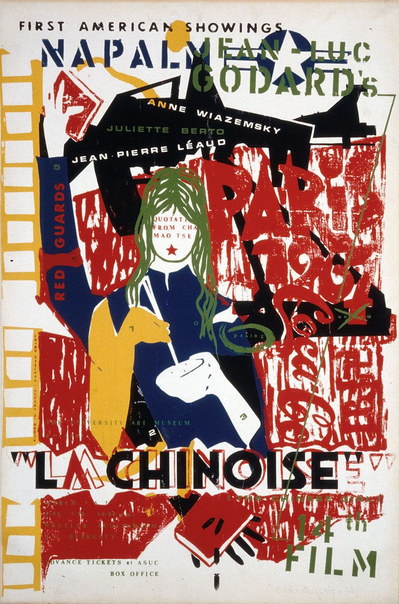 Movie Poster Of The Week Jean Luc Godard S La Chinoise On Notebook Mubi Pôsteres De Filmes Cartaz Filmes