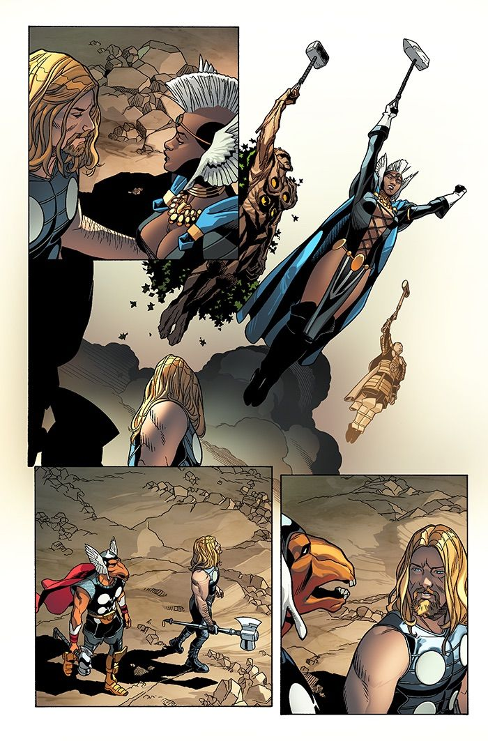 THORS #1 Brings the Hammer of Justice to Battleworld This June, This June, prepare to meet Battleworld's steadfast police force, the Thors! Gods of Thunder, doling out justice with a crash of thunde..., #Battleworld #ChrisSprouse #DaleKeown #DeliciousDesignLeague #JasonAaron #JohnTylerChristopher #KrisAnka #MarvelComics #News #PaulRenaud #PressRelease #SecretWars #Thor #THORS #Thors#1