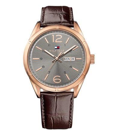#TommyHilfiger #Tommy #Hilfiger #horloge voor #heren #herenhorloge met #rosé #rose #roségoud #rosegoud op Horlogeloods.nl