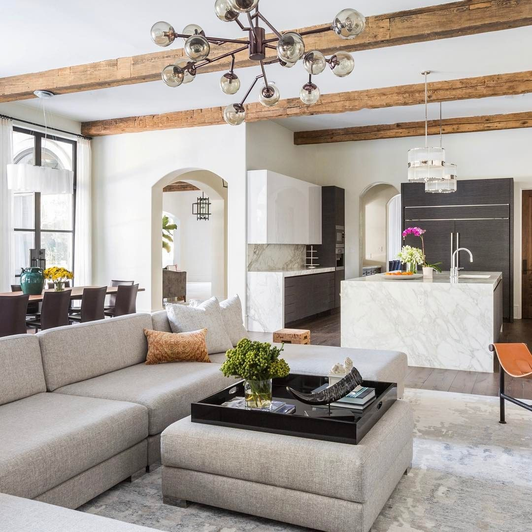 Marieflaniganinteriors you could say we 39 re open to the - How do you say living room in spanish ...