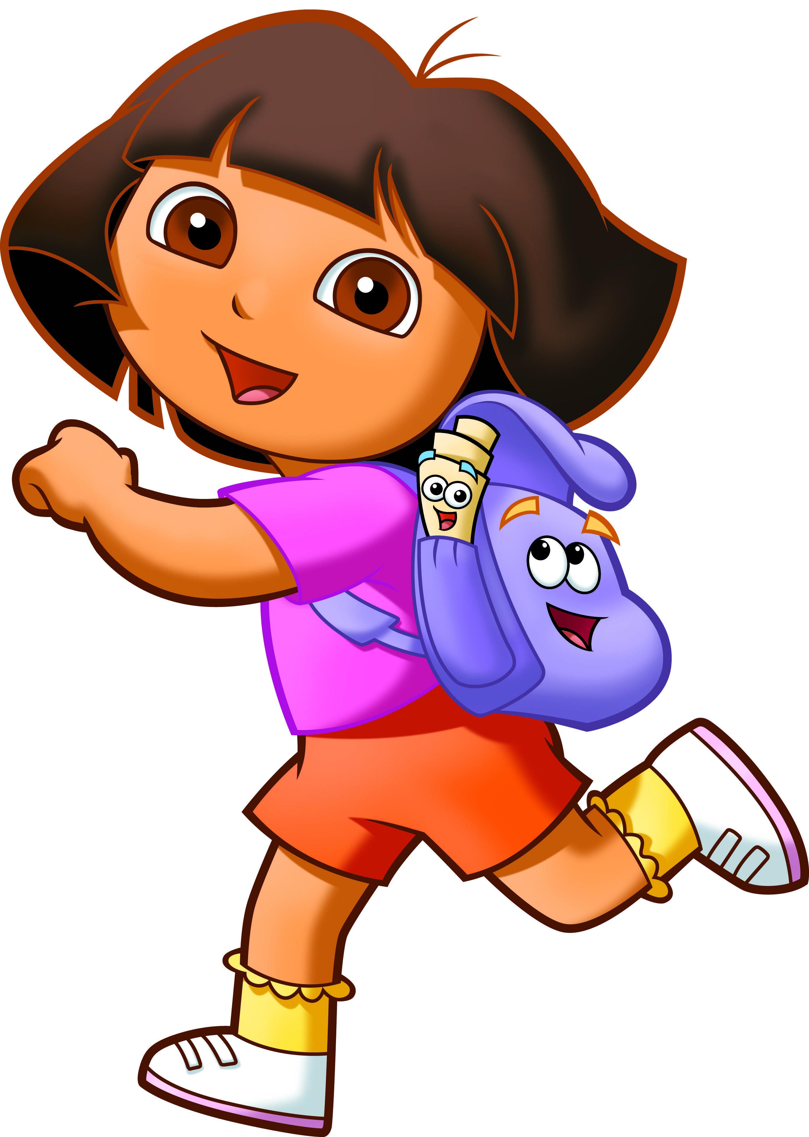 Dora, Back Pack & Map, Dora the Explorer. | 2 birthday ... Dora The Explorer Characters Map