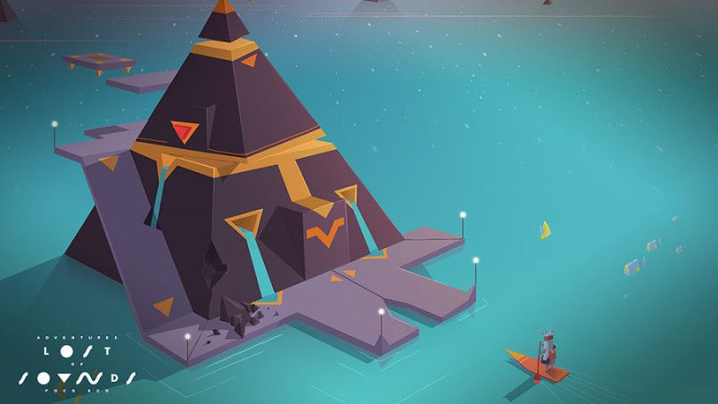 """Adventures of Poco Eco – Lost Sounds"" is a gorgeous game created by Possible…"