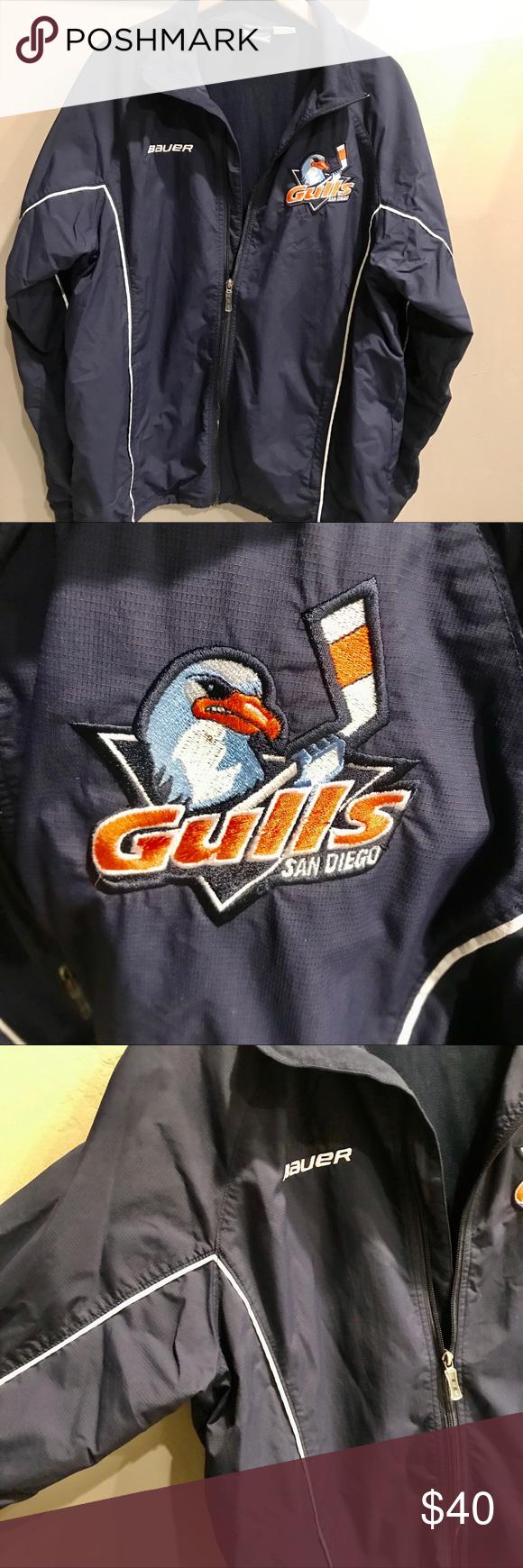 San Diego Gulls Hockey Jacket In 2020 Jackets Fashion Athletic Jacket