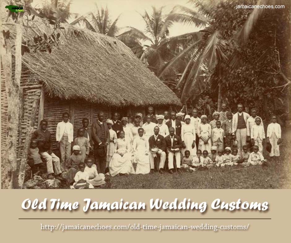 Jamaican Wedding Hairstyle: Old Time Jamaican Wedding Customs