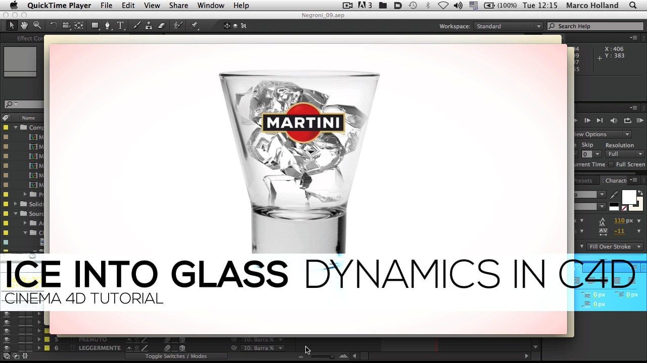 Ice Into Glass Tutorial