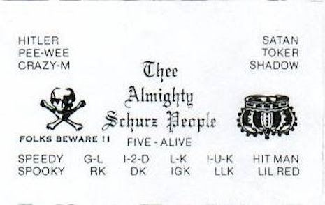 Lovers N Killers Chicago Gang Members Business Cards From The 1970s And 1980s Chicago Gangs Gang Gang Signs