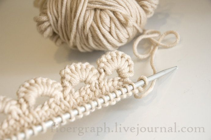 tutorial in pictures ( you need knitting needles as well as a ...