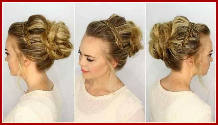 Ballfrisuren Lange Haare Geflochten Modische Haarschnitte Und