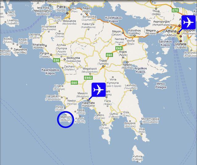 Methoni Greece Reisbestemmingen
