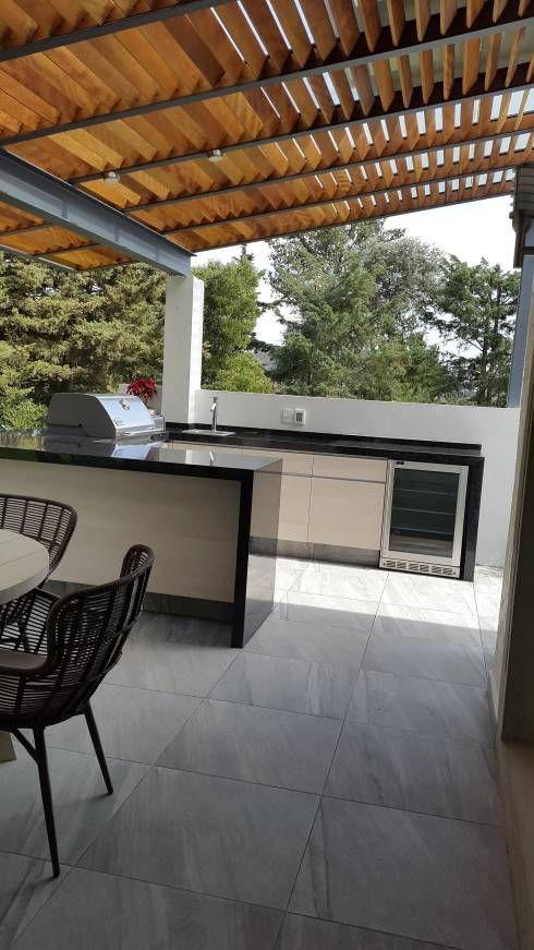 Asadores para jard n 10 espacios sensacionales for Asador en patio pequeno