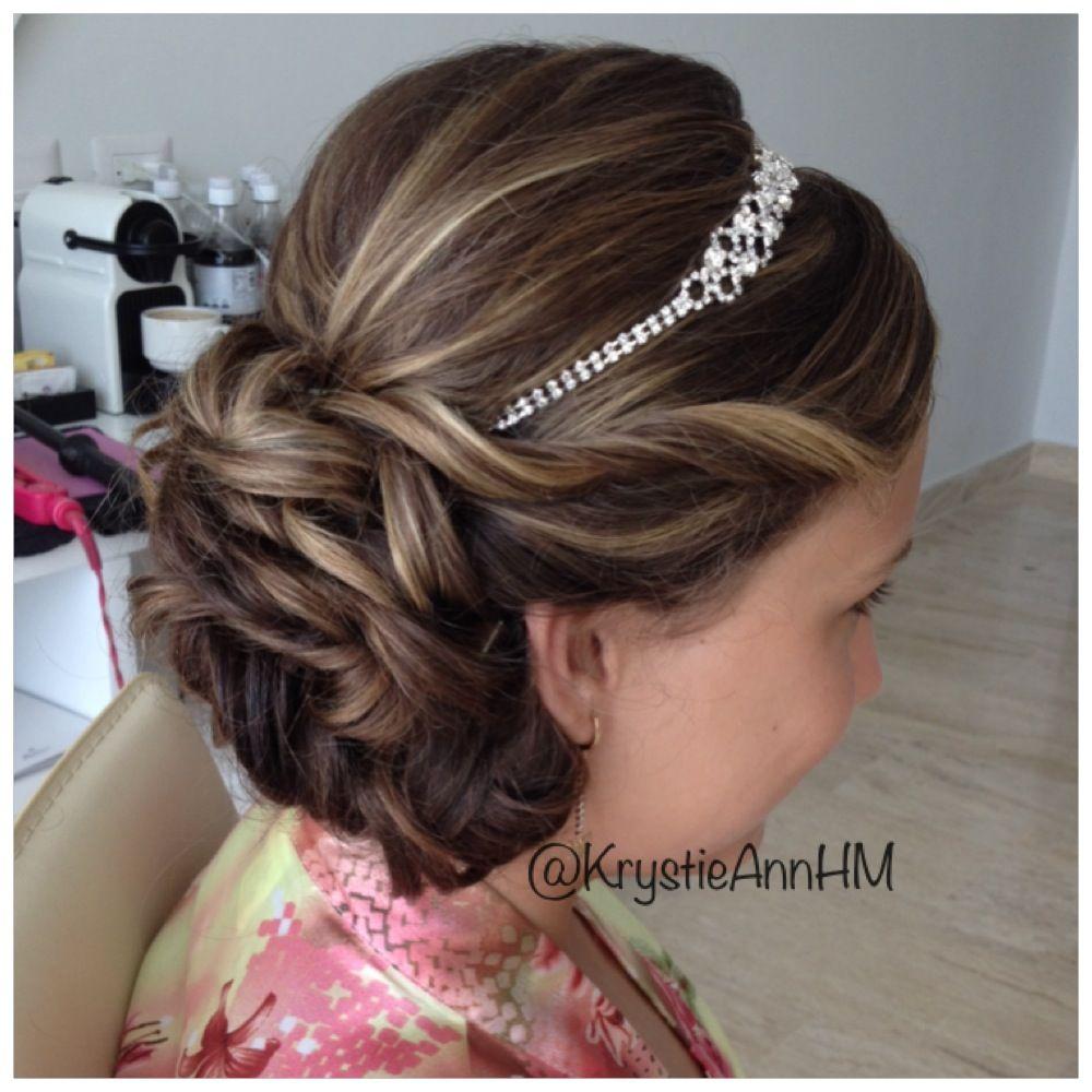 Junior bridesmaid hair accessories - Hair Www Krystieann Com Wedding Hair Bridal Hair Junior Bridesmaid Hair