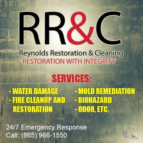 Reynolds Restoration Cleaning Providing Property Damage Repair